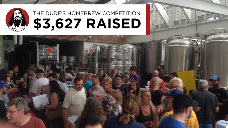 2017 The Dude's Homebrew Competition: $3,627 raised